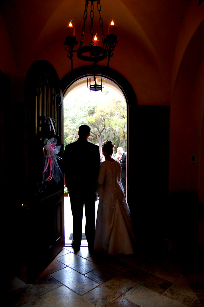 Daniel's Point Of View That Captured The Newlyweds From A Unique Perspective