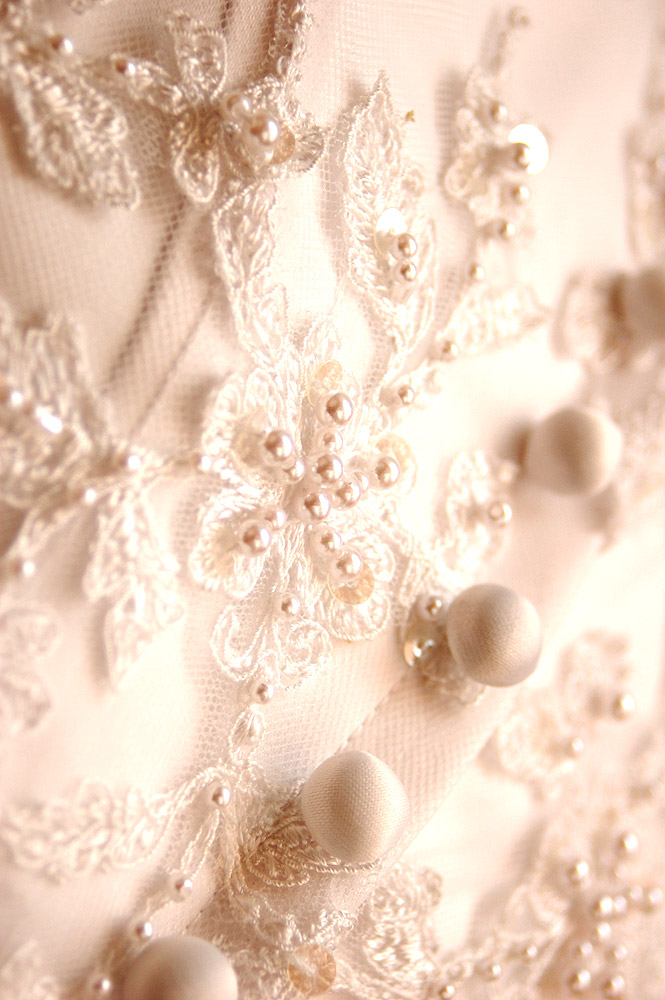 An Ever Closer Look At The Gown's Stunning Details