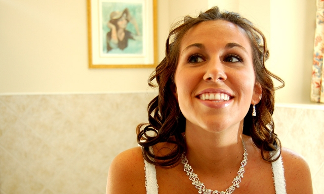 Another Smiling Bride Who's Glad To Be Working With Daniel